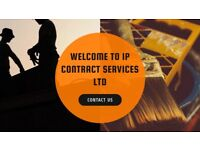 IP Contract Services-Electrical/Plumbing/Carpentry/Rendering and Plastering/Roofing