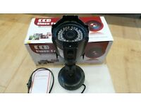 CCTV METAL CAMERA Interanl / External & Night Vision - BRAND NEW - With Cables