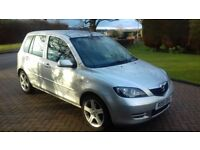 Mazda 2 2007 Automatic One owner FSH Silver