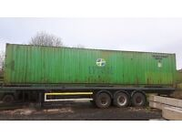 40ft Steel Shipping Container for sale.