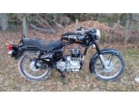 ROYAL ENFIELD 350cc. 2001. LOW MILEAGE. Needs attention. ***RE-ADVERTISEMENT with REDUCED PRICE***