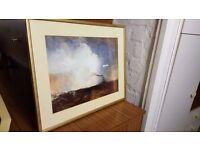 J.M.W. Turner Framed Prints With Gold Border