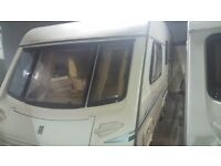 Abbey spectrum 4 Berth 2001 Twin Axle Caravan
