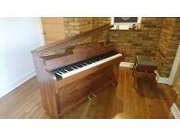 Barratt and Robinson Piano with John Austin Stool