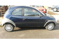2000 Ford KA 1.3. super reliable and tidy car, 1 year mot (no advisories)