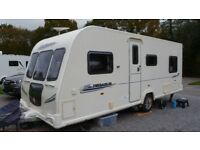 Bailey Pegasus 524 2010 with Motor Mover fixed double bed full service history £8750