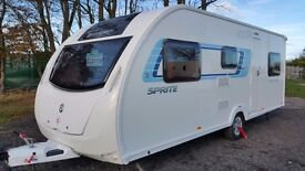 Sprite Major 6TD - 6 Berth Touring Caravan
