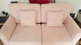 Gorgeous pink vintage sofa