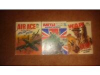 3 Air Ace, Battle & War Picture Libary Holiday Special Comics