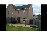 3 bed semi detached house, fully furnished, Banchory