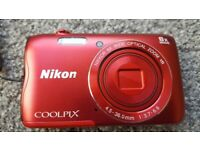 Nikon COOLPIX A300 Digital Camera bundle