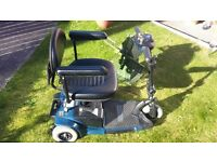 Pride GoGo Folding Mobility Scooter Blue ( Priced to Clear! )