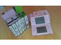 Nintendo ds pink and games bundle.
