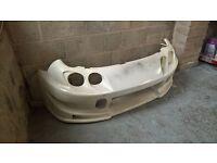 honda integra aftermarket fibreglass front bumper