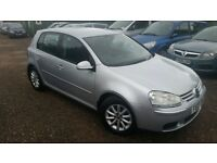 Volkswagen Golf 1.9 TDI Match 5dr, FSH, LONG MOT, HPI CLEAR,REMOTE CENTRAL LOCKING , P/X WELCOME