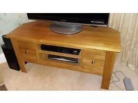 Solid wood TV Unit originally from Oak Furniture Land, as new £75