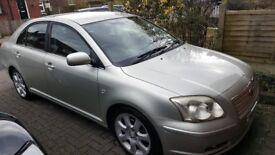 TOYOTA AVENSIS 2005 Automatic Petrol Silver Petrol Automatic in Silver