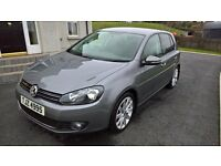 VW Golf 2.0 GT TDi 140 bhp March 2011 47,500 miles