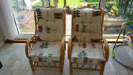 Outside garden chairs