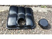 Ford focus st 225 carbon fibre coolant tank cover rs