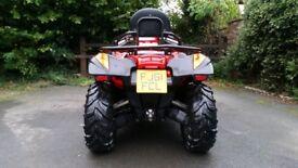 2011 Quad Bike Quadzilla Rs6 600cc road legal