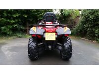 2011 Quad Bike Quadzilla Rs6 600cc road legal