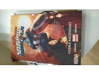 All New Captain America Hydra Ascendant Marvel hardback book with digital edition