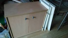 Small wooden cupboard
