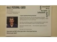 Experienced Personal Carer available in Richmond Twickenham area