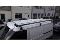 Rhino 3 bar roof bars for low top swb transit