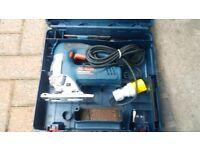 Bosch Professional SDS Drill 110v, Bosch Jigsaw 110v, Bosch Angle Grinder 110v