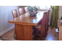 Dining room table,