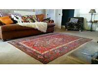 Persian Rug. Genuine hand knotted Kashan