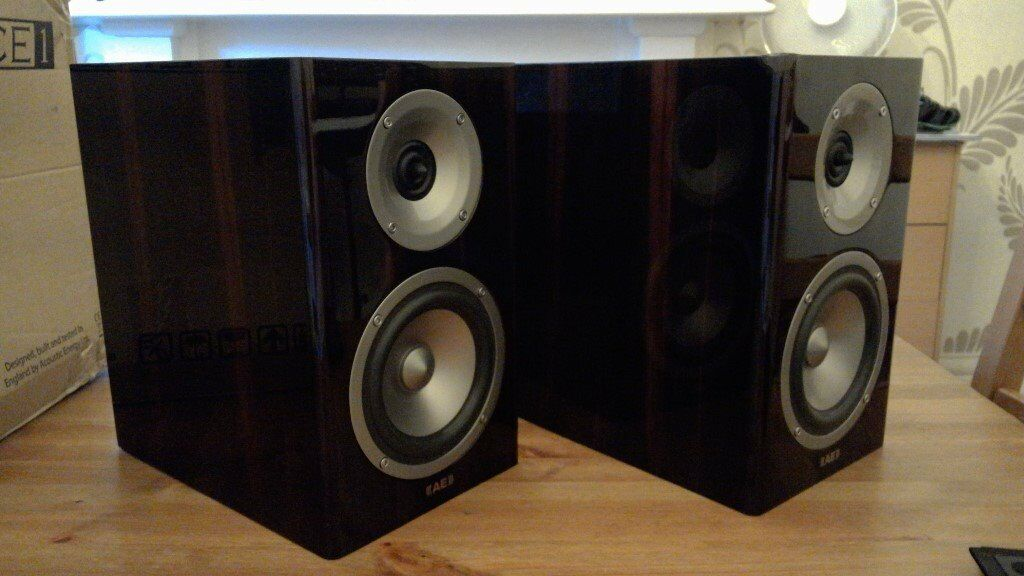 Acoustic Energy AE Reference 1 Bookshelf Speakers High End