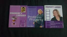 3x Sarah Beeny's Property Ladder books