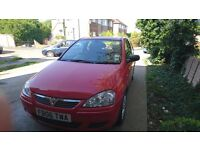 Red Vauxhall Corsa for sale - £1150 ONO