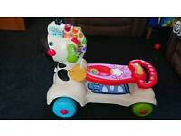 Vtech 3 in 1 zebra scooter