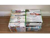 Xbox 360 ps3 and Wii games