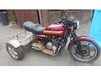 Kawasaki gt750 trike