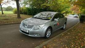 Toyota avensis ready to Leeds private hire.