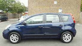 2008(EF08SNV) NISSAN NOTE 1.6 PETROL AUTOMATIC.IN EXCELLENT CONDITION.SERVICE HISTORY