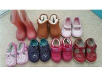 Assorted size 4 children shoes