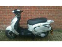2009 Yiying 125cc scooter long MOT