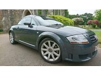 Audi TT 3.2 V6 DSG-Quattro 3dr in Grey Comes With Full Service History All Done By Audi..