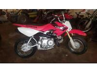 Honda Crf50 2015 Like New