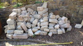 quantity of building stone, no rubbish, approx 2.2m x 0.8 x 1.2m Make a reasonable offer over £100