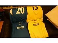 Puma Blue Football shirts