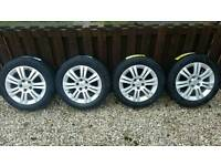 "Vauxhall 16"" Alloys With Brand New Tyres"