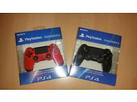 2 Brand New PS4 Controllers