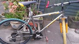 Virage Mach 2 mountain bike, front suspension, 21 gears, fully serviced